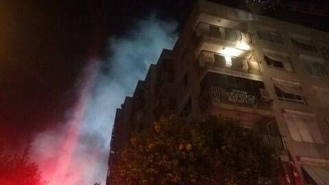 Apartmanda yangın paniği: Süper Lig maçını da etkiledi
