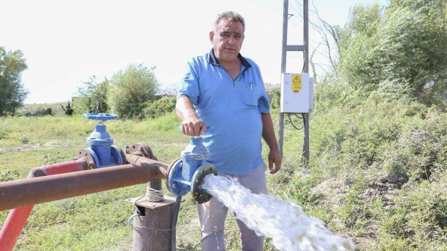 Aydın'da kuraklık önlemi: Bin dönüm araziye hayat verildi