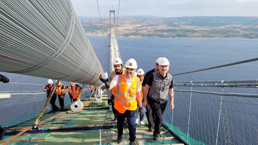 1.8 milyar Euro'luk köprüye 2.8 Milyar'lık garanti