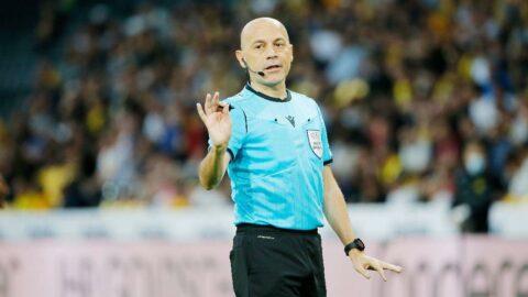 Fenerbahçe-Giresunspor maçının son saniyesine Cüneyt Çakır damgası