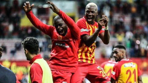 Fenerbahçe gönderdi, Thiam Kayseri'de Galatasaray'a karşı şov yaptı