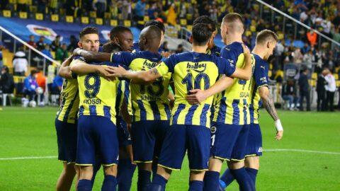 Fenerbahçe evinde geçit vermedi