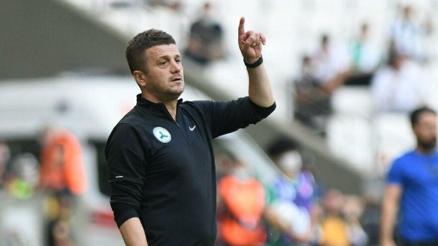 Giresunspor Teknik Direktörü Hakan Keleş'ten Cüneyt Çakır yorumu