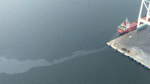 İzmit Körfezini kirleten gemiye 1 milyon 197 bin lira ceza