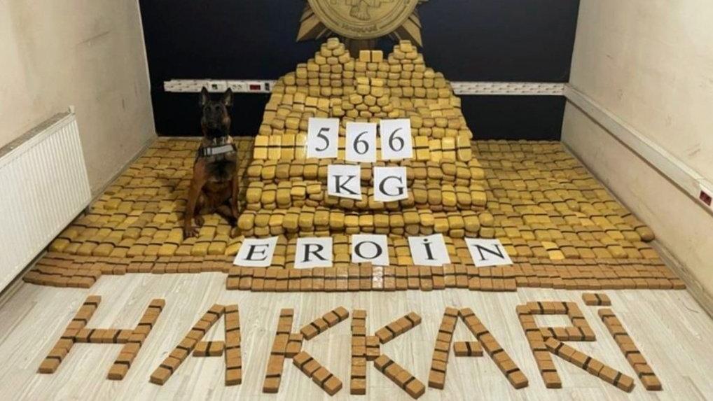 Süleyman Soylu: 566 kilo eroin ele geçirildi