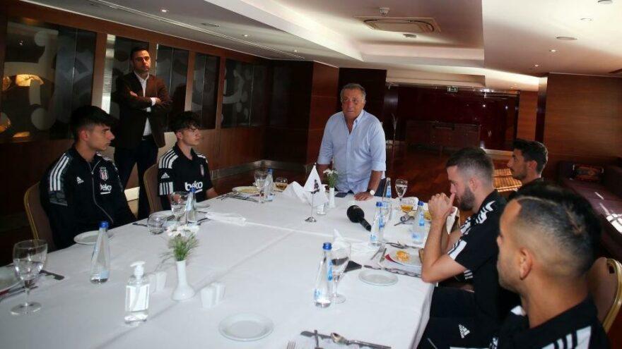 Beşiktaş Başkanı Ahmet Nur Çebi, Josef de Souza'nın mailini okudu!