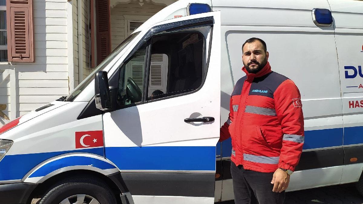 Özel ambulans şoföründen isyan: Minibüsler bizden daha öncelikli
