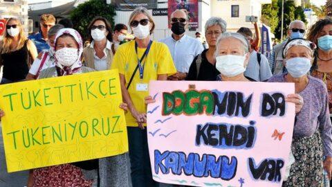 Bodrum'da küresel iklim eylemi