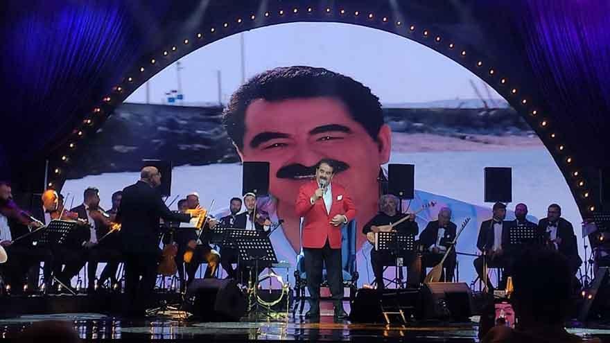 İbrahim Tatlıses 12 yıl sonra ilk kez konser verdi