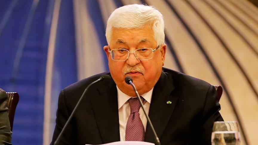 Mahmud Abbas'tan İsrail'e 1 yıl süre: 1967 sınırlarına çekilin