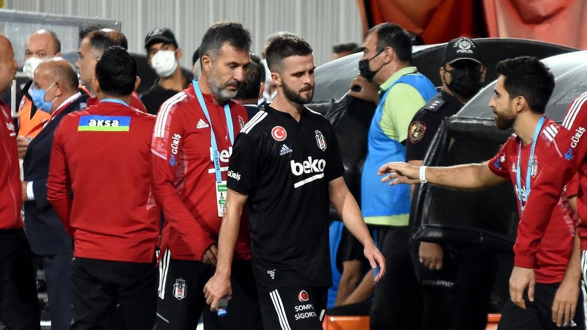 Beşiktaş'ta bir sakat daha: Miralem Pjanic!