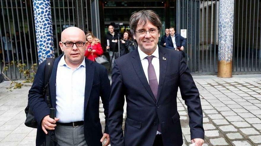 Katalan lider Carles Puigdemont, İtalya'da tutuklandı