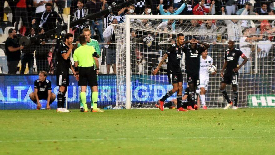 Beşiktaş, Altay deplasmanından çıkamadı! Süper Lig'de yeni lider…