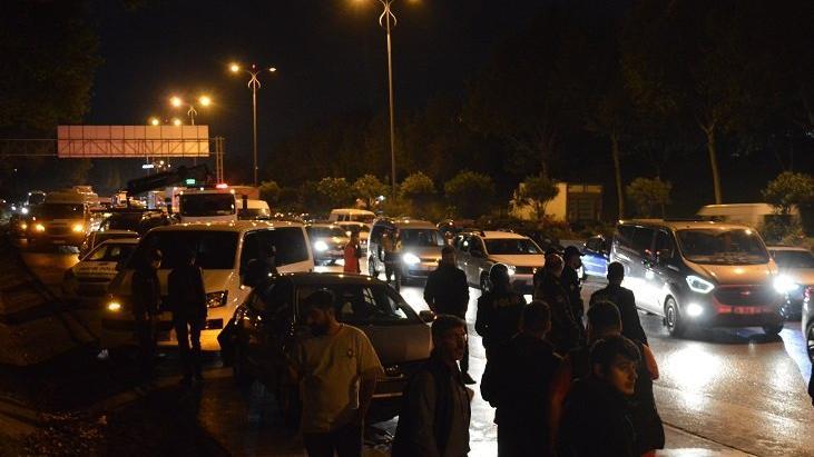 Bağcılar'da zincirleme trafik kazası: 5 yaralı