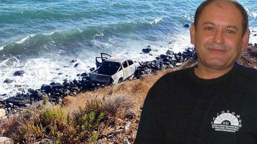 Uçurumdan deniz kenarına düşen araçtan Beşiktaş kongre üyesinin cesedi çıktı