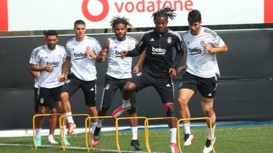 Beşiktaş'ta 3 futbolcu sakatlıktan döndü