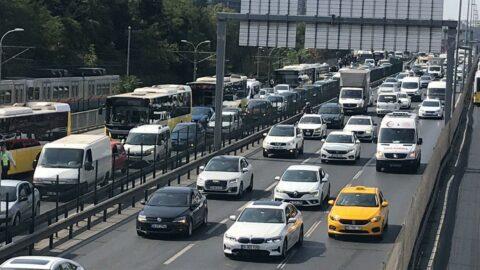 Teknofest yoğunluğu trafiği felç etti
