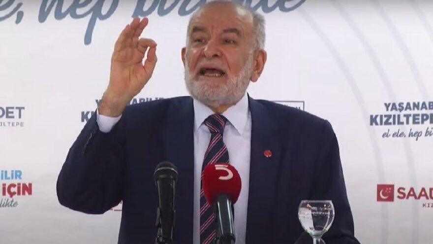Karamollaoğlu: Milletimizden destek istiyoruz