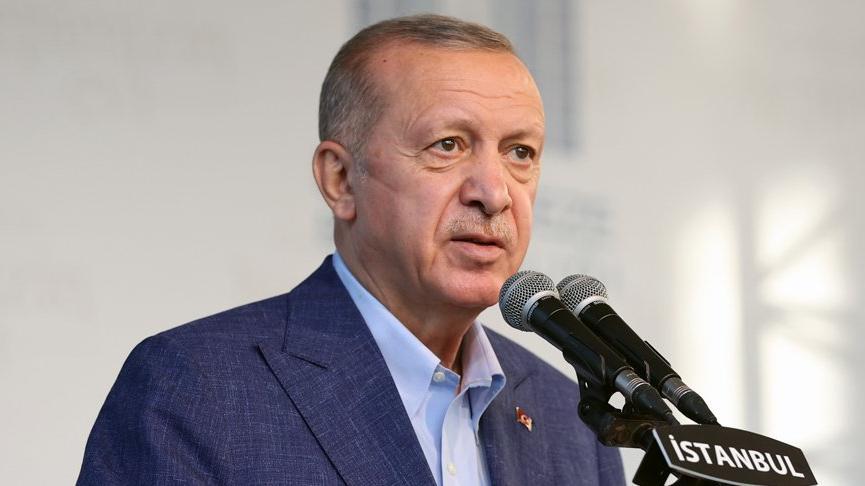 Erdoğan'dan yurt çıkışı: Yalan söylüyorsunuz, hayatınız yalan