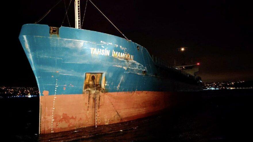 İstanbul Boğazı'nda iki ayrı kaza