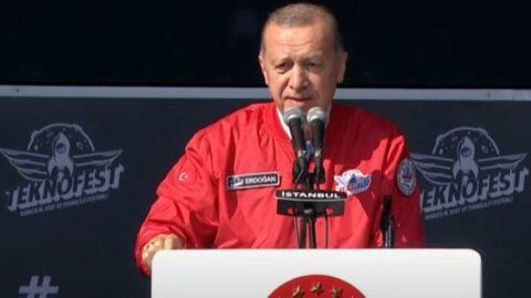 Erdoğan Teknofest'te konuştu: Sözde elit, özde lümpen bu kifayetsiz güruhu iyi tanıyorsunuz