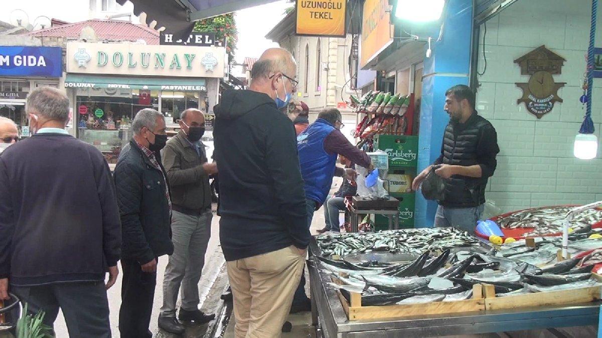 Karadeniz'de fırtına nedeniyle balık fiyatları katlandı