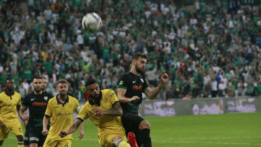 Ankaragücü'nden Bursaspor'a 4 gol! Eren Derdiyok fırtınası…