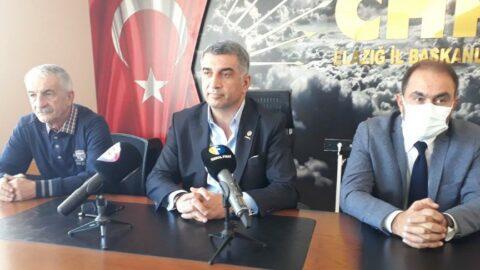 CHP'li Erol: Elazığ'da yeni bir siyaset dili oluşturacağız