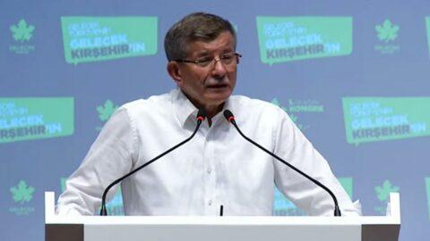 Davutoğlu:Ekonomistler ile Erdoğan'ın danışmanları arasında tartışma çıktı