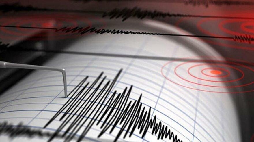 Ege Denizi'nde 4.0 büyüklüğünde deprem