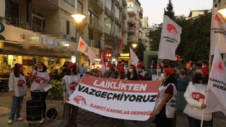 İKD'den İstanbul ve İzmir'de eylem: Laiklikten Vazgeçmiyoruz!