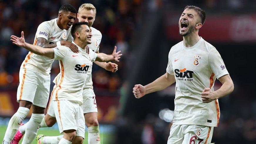 Galatasaray'da Morutan ve Halil Dervişoğlu siftah yaptı