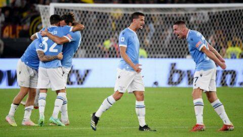 Lazio, Roma derbisinde sahadan zaferle ayrıldı: 3-2