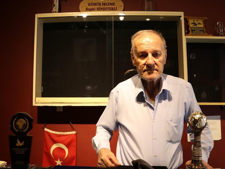 UNESCO Yaşayan İnsan Hazinesi Süphi Yerlihindi'nin dükkanını soydular