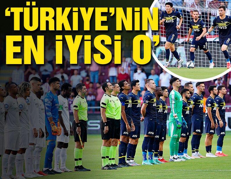 Rıdvan Dilmen'den iddialı çıkış! 'Türkiye'nin en iyisi o'