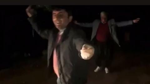 AKP'li başkan silah sesleri eşliğinde oyun oynadı