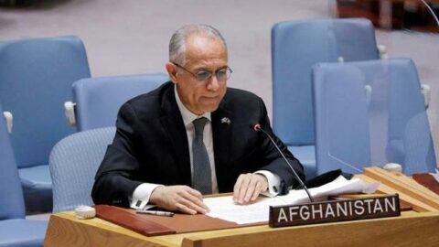 Afganistan'ın BM Büyükelçisi, konuşmacılar listesinden ayrıldı