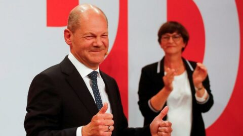 Almanya'da hükümeti Yeşiller ve Liberaller belirleyecek
