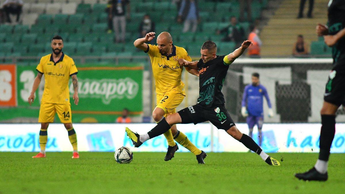 Bursaspor, Timsah Park'ta 8 puan kaybetti