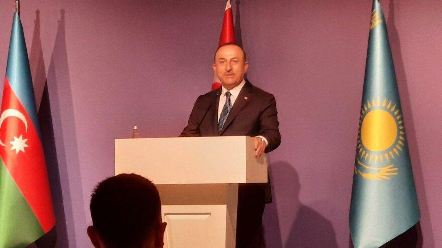 Çavuşoğlu: Bölgenin barış bölgesi olmasını istiyoruz
