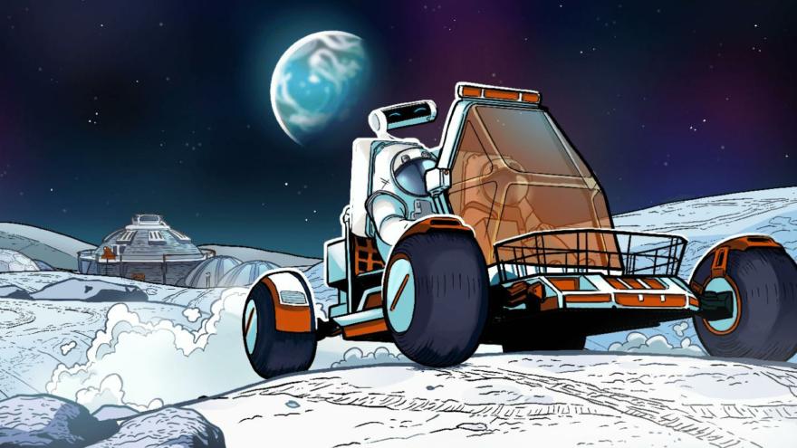 NASA ilk çizgi romanını yayınladı