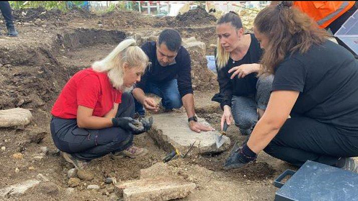 Ordu'da arkeolojik kazıda yeni lahit mezara ulaşıldı