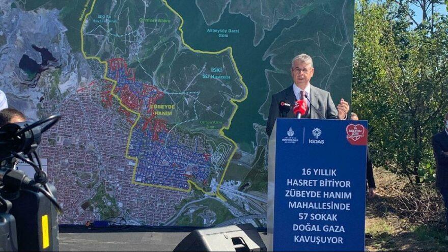 İstanbul'da 16 yıldır doğalgaz bekliyorlardı, ilk adım atıldı