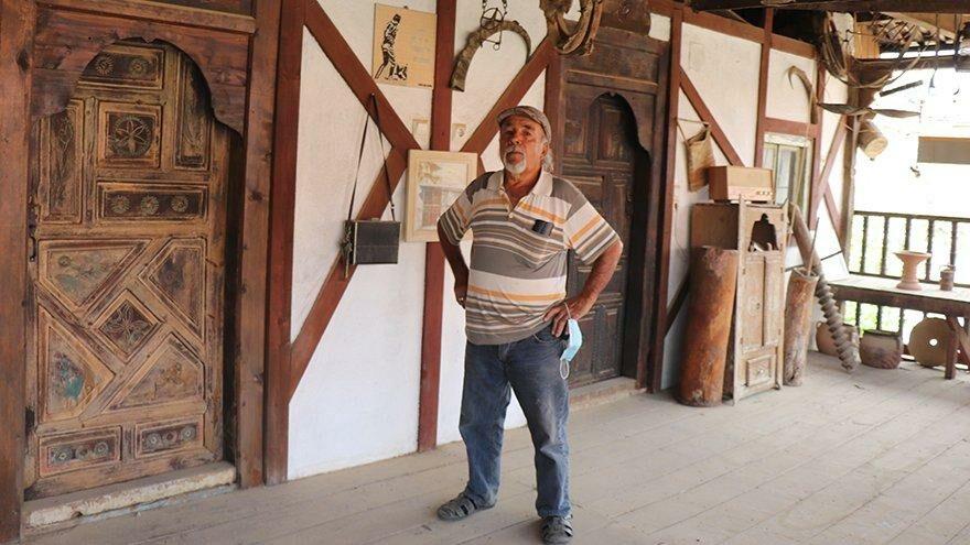 Fransa'ya çalışmaya gitti, Türkiye'ye dönünce köyüne müze yaptı