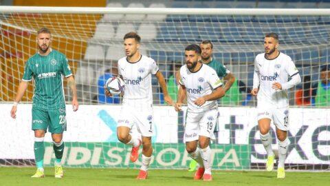 Konyaspor, Kasımpaşa deplasmanında fırsat tepti