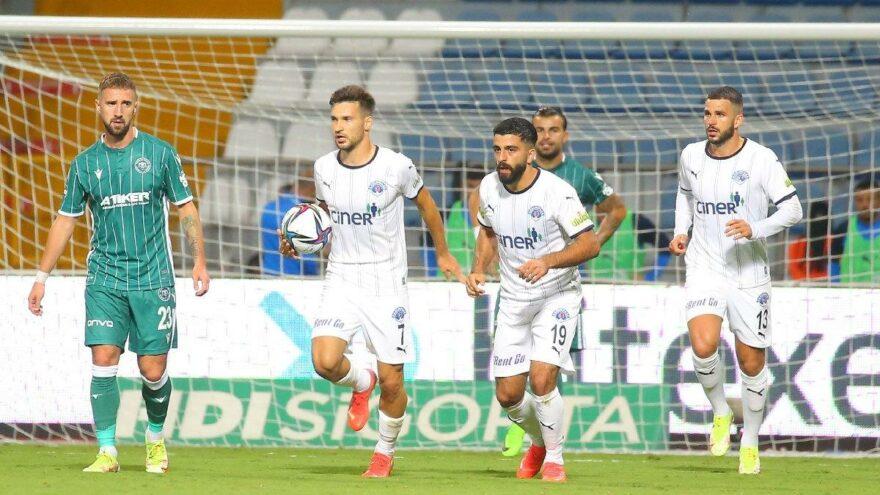 Kasımpaşa-Konyaspor maçında gol düellosu: 2-2