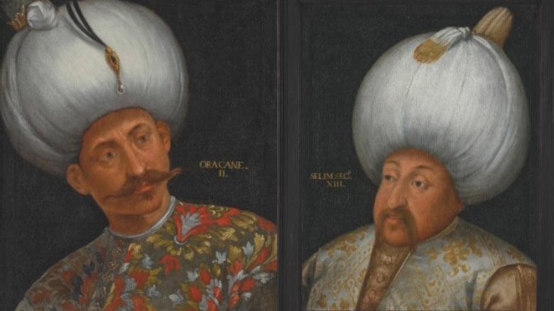 Osmanlı padişahlarına ait portreler İngiltere'de satışa sunulacak