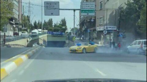 Sosyal medyada paylaşılan drift görüntüsüne 8 bin lira ceza