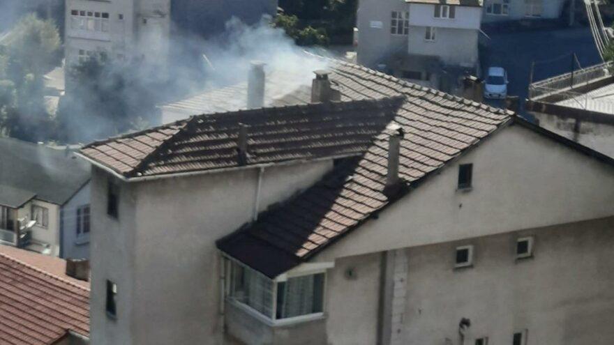 Mangal keyfi yangınla sonuçlandı