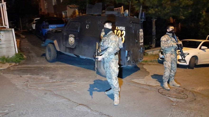 İstanbul'da uyuşturucu operasyonu: Çok sayıda gözaltı var